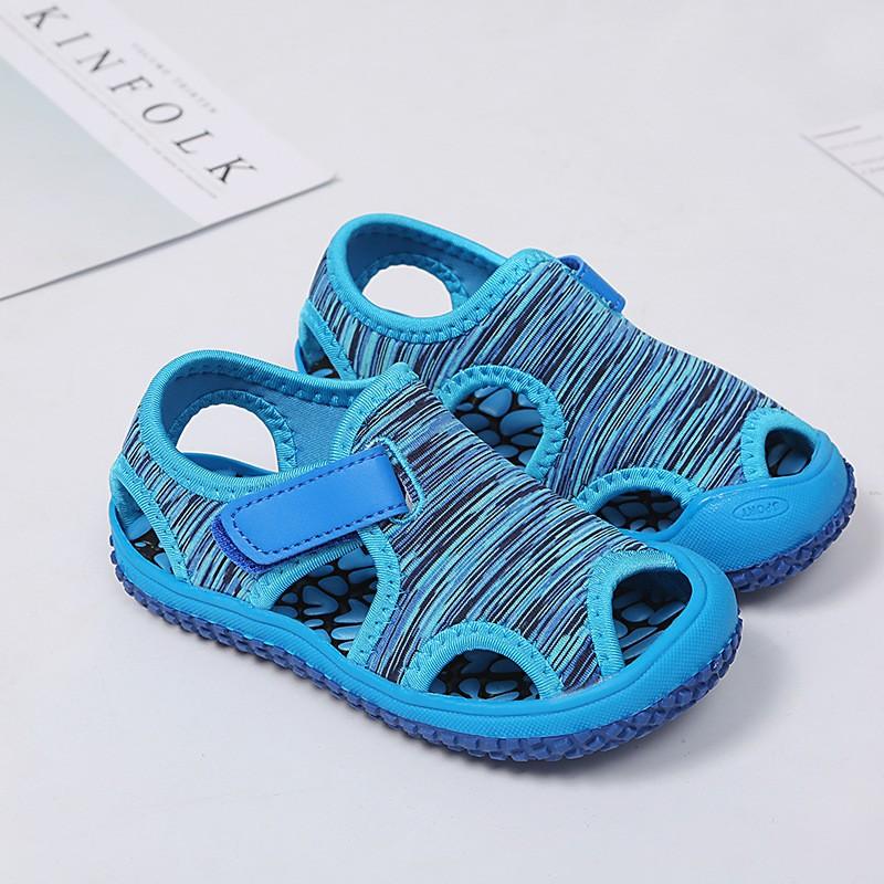 Summer Baby Girls Boys Beach Sandals Soft Bottom Non-slip Infant Outdoor