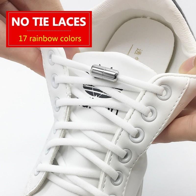 Elastic No Tie Shoelaces Semicircle Shoe Elastic No Tie