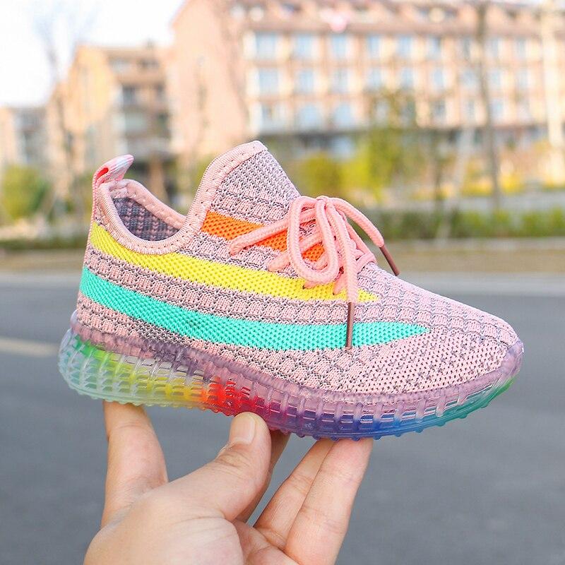 Children's Boys Girls Sport Running Sneakers