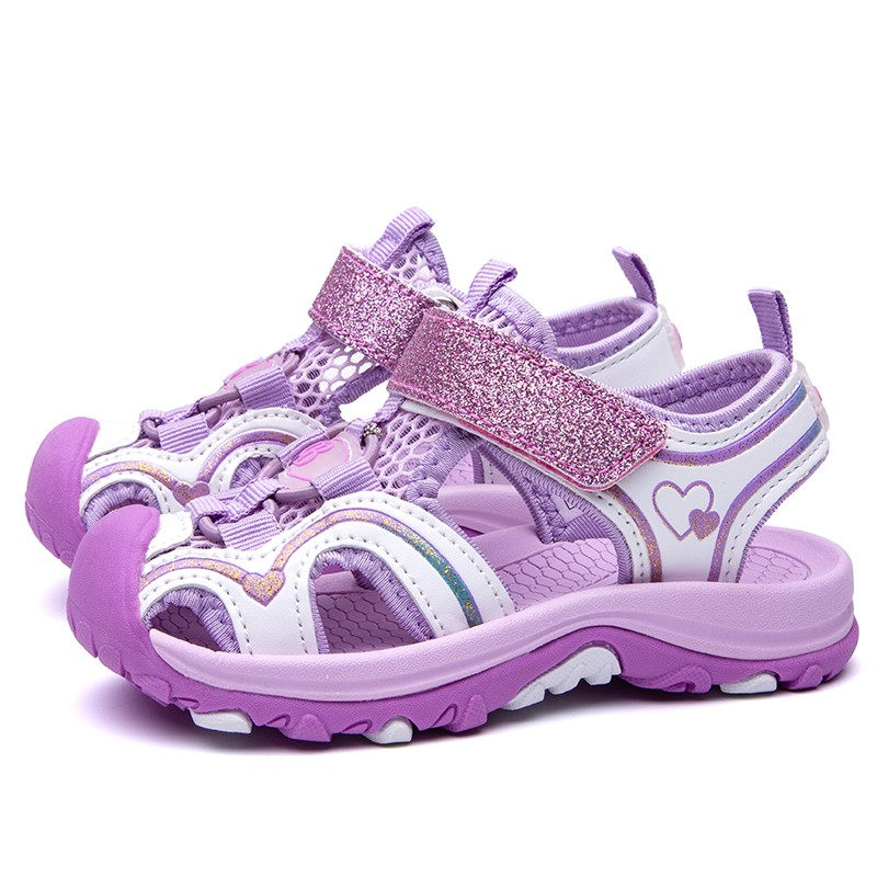 Girl's Sandals Summer Closed-toe Sports Beach Shoes Baby