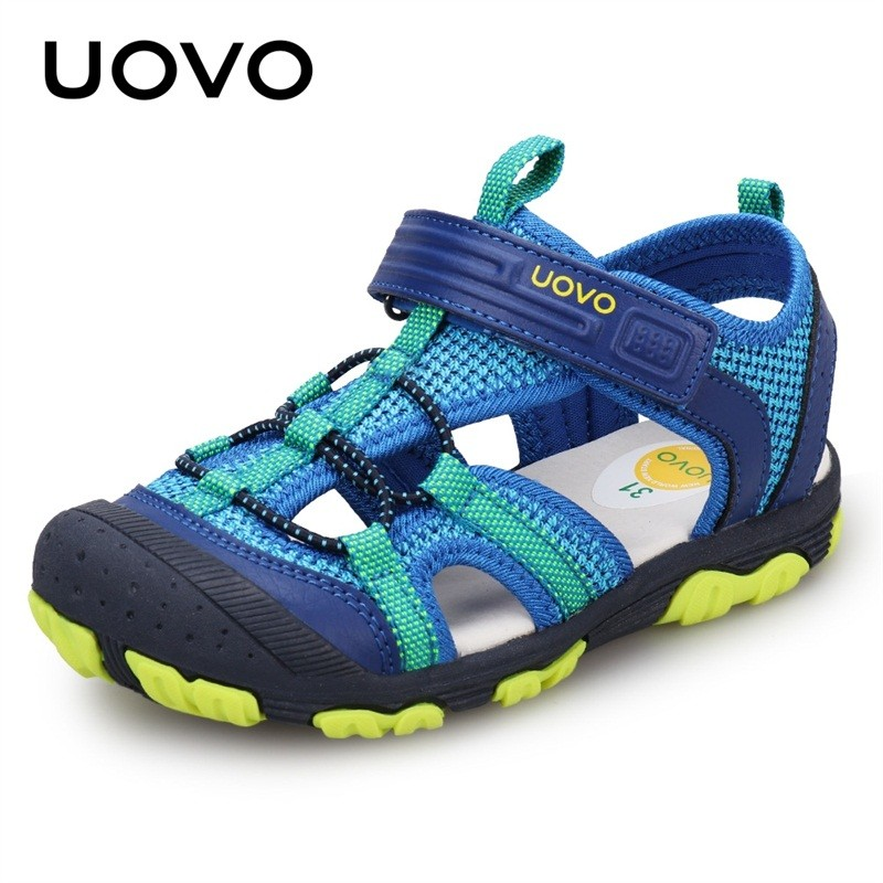 Boys Sandals Closed Toe Little and Big Kids Summer Shoes