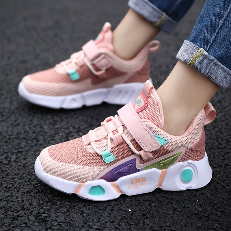Unisex Children Fashion Outdoor Breathable Comfortable Sneakers