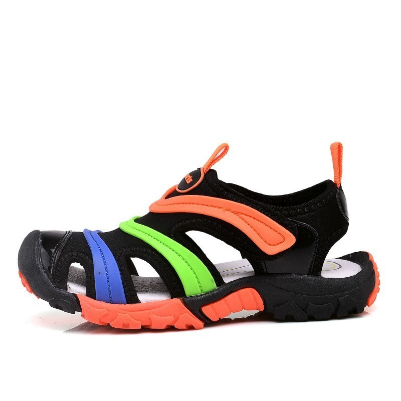 Boys Girls Summer Sandals toddler closed toe breathable anti-slippery