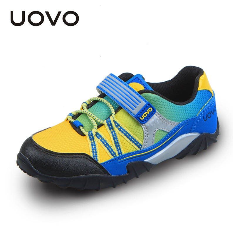 Autumn Boys Shoes Breathable Sport Hook And Loop Toddler