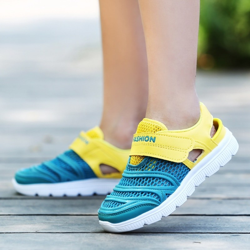 Children Mesh Shoes Sports Breathable Casual
