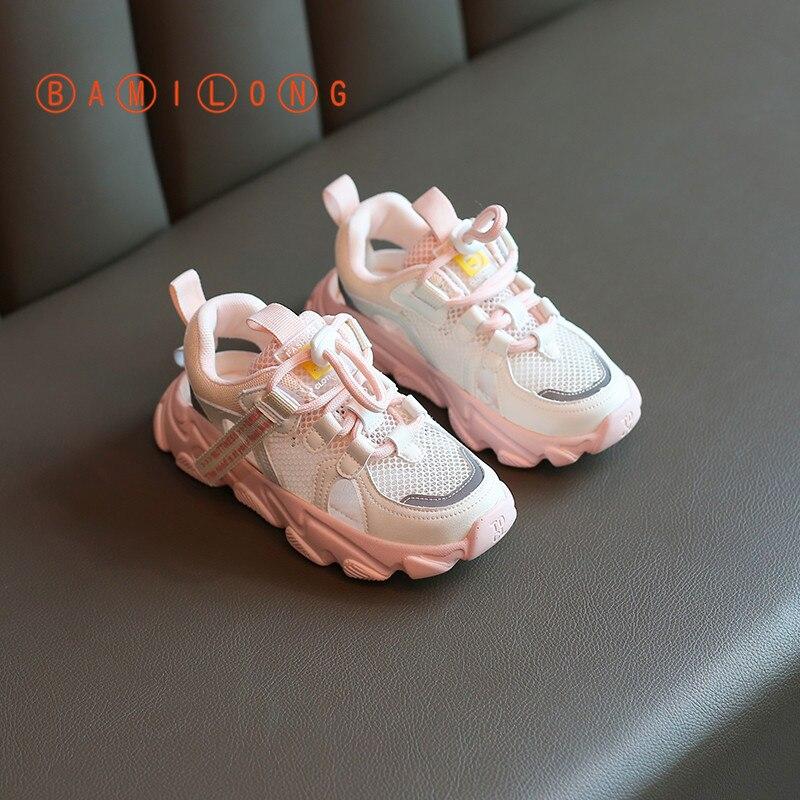 Girls Sport Shoes Breathable Running Children Toddler