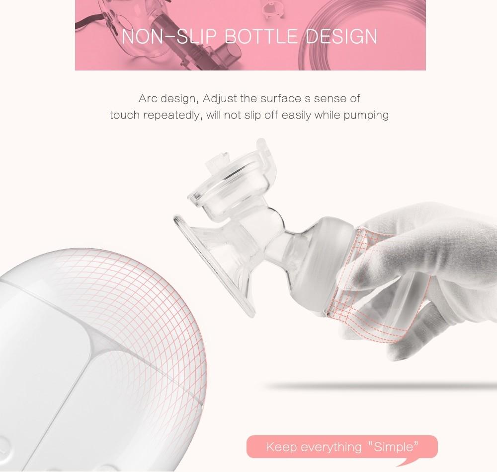 Electric breast pump unilateral and bilateral breast pump