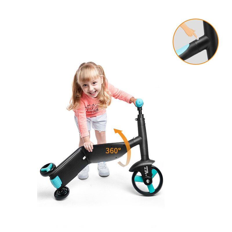 Baby Tricycle 3 In 1 Balance Bike Ride On Toys Scooter