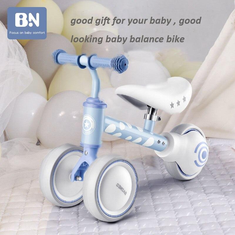 Baby Balance Bike Children's Sliding Walker 1-3 Years Old Kids Sliding Scooter Birthday Gift